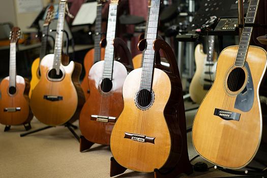 写真:レンタルギター