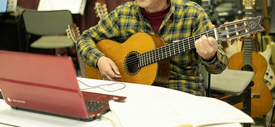 写真:ギター